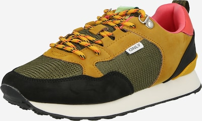 Sneaker low 'SAHEL-6' ONLY pe ocru / verde / negru, Vizualizare produs