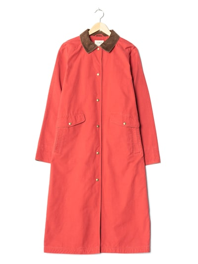 L.L.Bean Trenchcoat in M-L in rot, Produktansicht