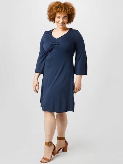 Vero Moda Curve Kleid in navy, Modelansicht