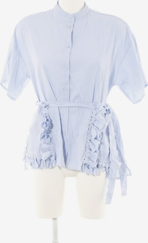 Storets Kurzarm-Bluse in S in Weiß