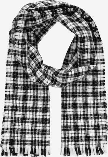 Mennace Schal 'EVIAN' in schwarz / weiß, Produktansicht