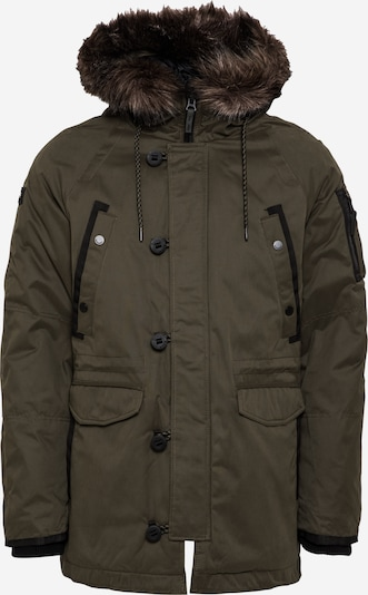 Superdry Winter parka in khaki / black, Item view