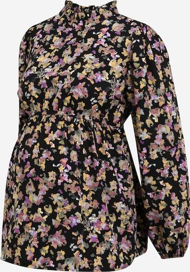 MAMALICIOUS Bluse 'Emra' in mischfarben / schwarz, Produktansicht
