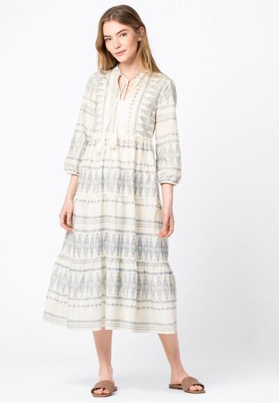 HALLHUBER Kleid in hellblau / weiß, Modelansicht