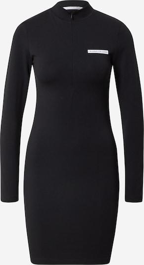 Rochie Calvin Klein Jeans pe negru / alb, Vizualizare produs