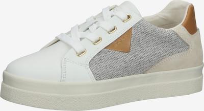 Sneaker low GANT pe crem / maro / gri amestecat / alb, Vizualizare produs