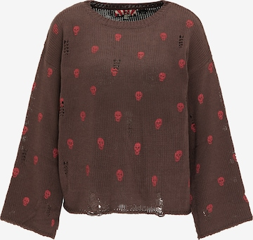 myMo ROCKS Sweater in Brown