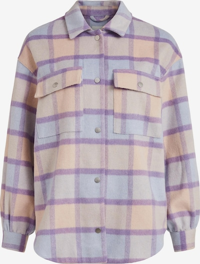 VILA Between-Season Jacket in Pastel blue / Pastel yellow / Pastel purple / Mixed colors, Item view
