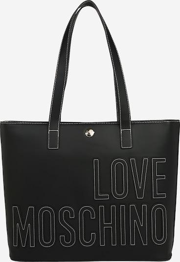 Love Moschino Shoppingväska i svart / vit, Produktvy