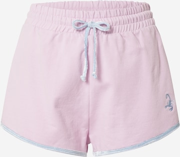 VIERVIER Shorts 'Annabelle' in Pink