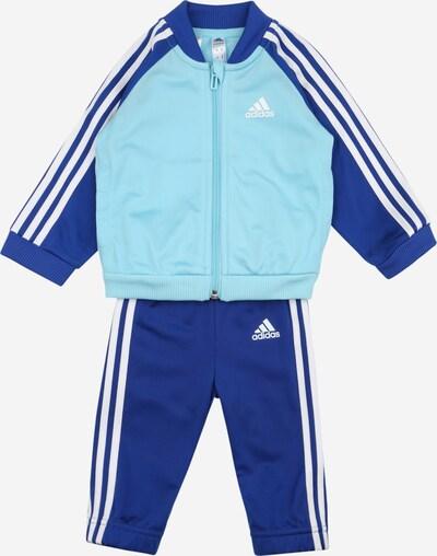 ADIDAS PERFORMANCE Trainingsanzug in blau / türkis / weiß, Produktansicht