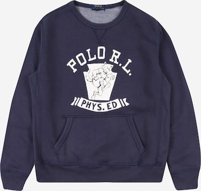 POLO RALPH LAUREN Mikina - námornícka modrá / biela, Produkt
