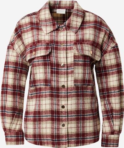 VILA Between-Season Jacket 'SARAS' in Cream / Dark blue / Wine red, Item view