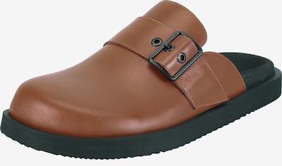 Ekonika Huisschoenen in de kleur Bruin, Productweergave