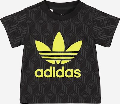 ADIDAS ORIGINALS Shirt in gelb / schwarz, Produktansicht
