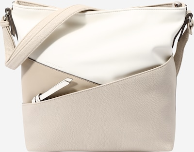 TOM TAILOR Crossbody bag 'Elina' in Beige / White, Item view