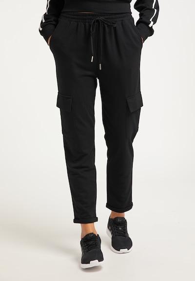 usha BLUE LABEL Hose in schwarz, Modelansicht