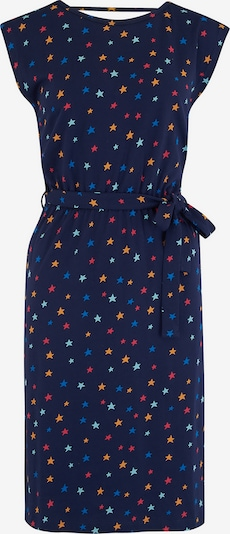 Sugarhill Brighton Kleid 'Hetty' in navy / hellblau / gelb / pink, Produktansicht