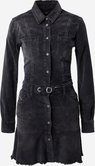 DIESEL Robe-chemise en noir, Vue avec produit