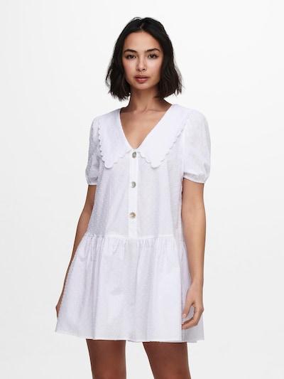 ONLY Kleid 'Jennifer' in weiß, Modelansicht