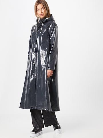 Stutterheim Between-seasons coat in Grey