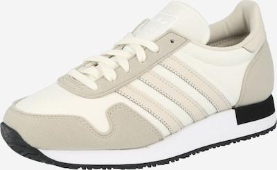 ADIDAS ORIGINALS Sneaker 'USA 84' in beige / hellbraun / weiß, Produktansicht