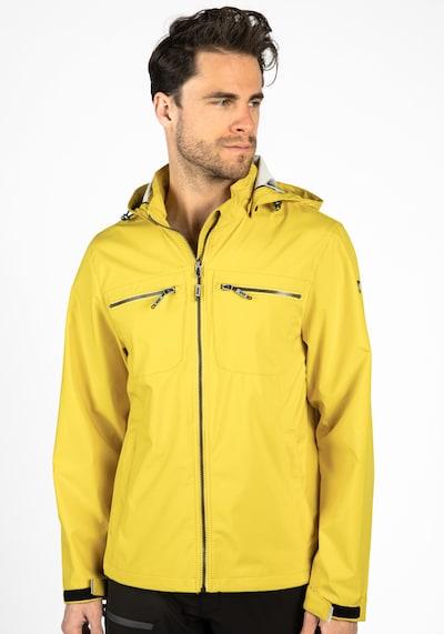 LPO Jacke 'Eddie' in gelb / weiß: Frontalansicht