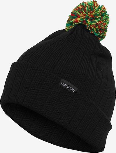 Urban Classics Bonnet en noir, Vue avec produit