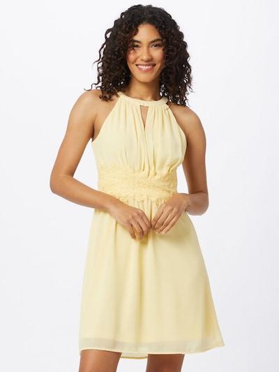 VILA Šaty 'MILINA' - světle žlutá, Model/ka