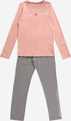 Tommy Hilfiger Underwear Pidžaama 'LS PANT JERSEY SET', värv roosa