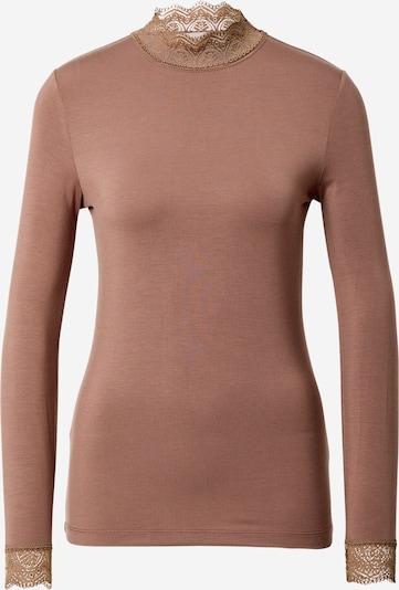 Maglietta 'Essential' Noa Noa di colore marrone chiaro, Visualizzazione prodotti