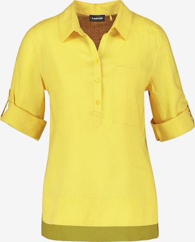 TAIFUN Bluse in limone, Produktansicht