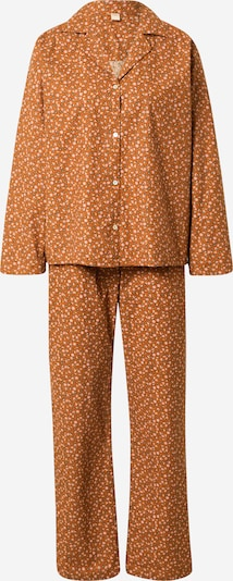 BeckSöndergaard Pyjama 'Aiyana' in de kleur Bruin / Groen / Sinaasappel / Rosa, Productweergave