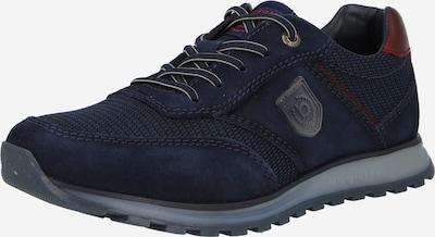 bugatti Športové šnurovacie topánky 'Cirino' - tmavomodrá / tmavohnedá / rubínová, Produkt