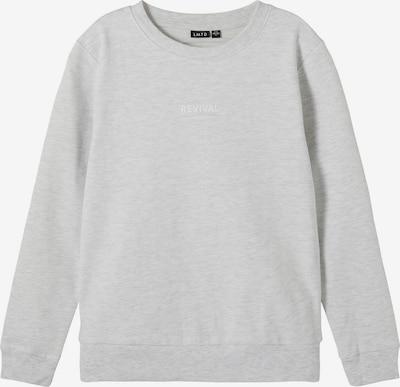 LMTD Sweat 'Fistan' en gris chiné, Vue avec produit