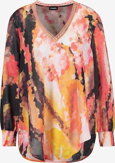TAIFUN Bluse in gelb / orange / pitaya / schwarz / weiß, Produktansicht