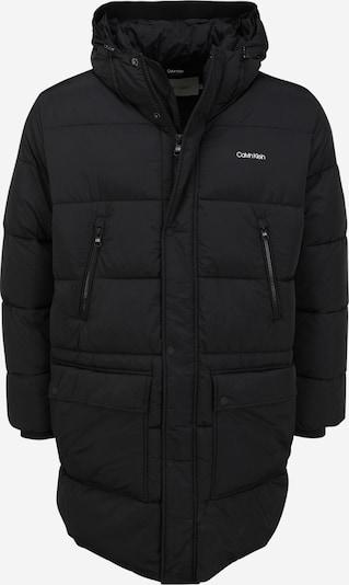 Calvin Klein Big & Tall Mantel in schwarz, Produktansicht