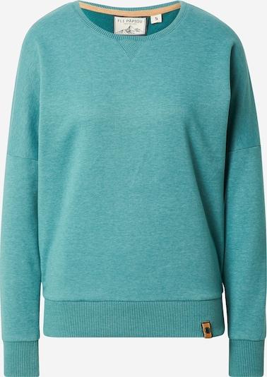 Fli Papigu Sweatshirt in Turquoise, Item view