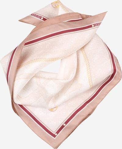 GUESS Tuch 'JENSEN FOULARD' in rosa / puder / bordeaux, Produktansicht