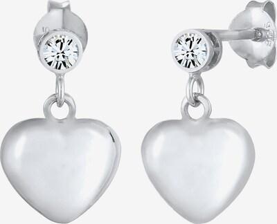 ELLI Oorbellen 'Kristall' in de kleur Zilver, Productweergave