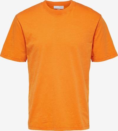SELECTED HOMME T-Shirt in orange, Produktansicht