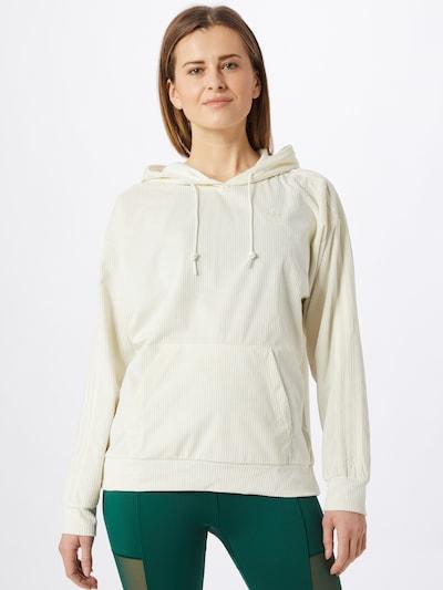 ADIDAS ORIGINALS Sweatshirt in weiß: Frontalansicht