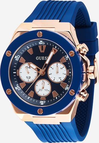 GUESS Uhr 'POSEIDON' in Gold