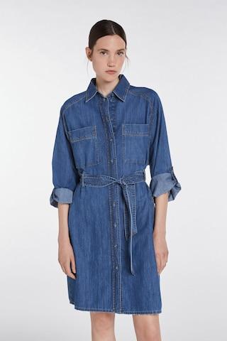 SET Shirt Dress in Blue