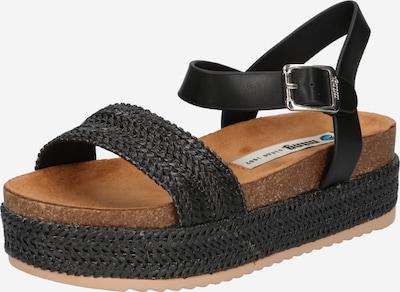 MTNG Sandale 'PERLA' in schwarz, Produktansicht