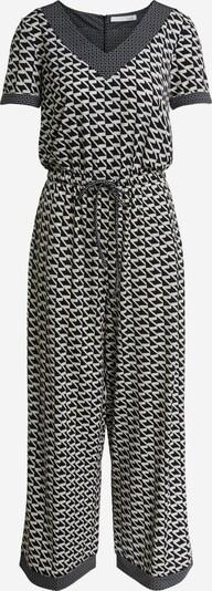 OUI Jumpsuit in schwarz / weiß, Produktansicht
