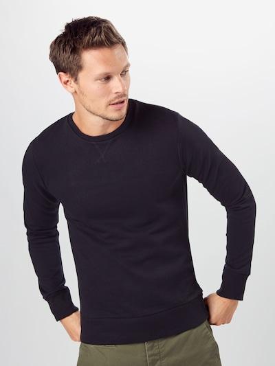BRAVE SOUL Sweater majica 'Jones' u crna: Prednji pogled