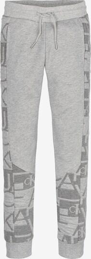 Calvin Klein Jeans Jogginghose in grau / schwarz, Produktansicht