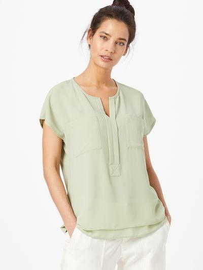 OPUS Blusenshirt 'Flusi ROS' in hellgrün, Modelansicht