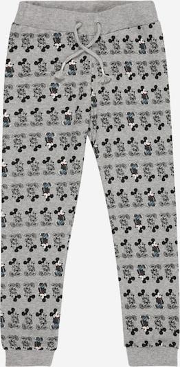 NAME IT Broek 'MICKEY' in de kleur Zwart / Wit, Productweergave